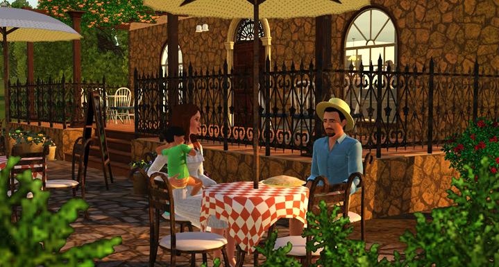 Sims 3 рецепты как приготовить курицу - 9b2